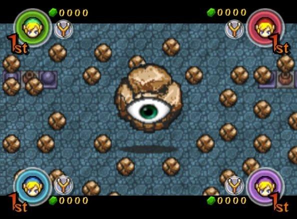 The Legend Of Zelda: Four Swords Adventures (GCN)  © Nintendo 2004   8/8
