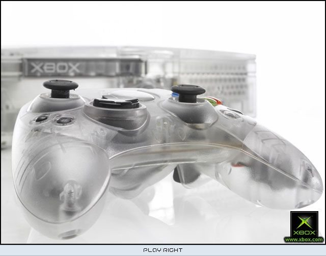 Xbox [Crystal Limited Edition] (XBX)  © Microsoft 2004   8/8