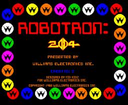 Robotron: 2084 (ARC)  © Williams 1982   1/3