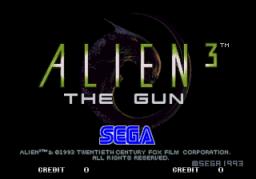 Alien 3: The Gun (ARC)  © Sega 1993   1/5