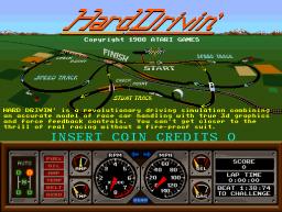 Hard Drivin' (ARC)  © Atari Games 1989   1/4
