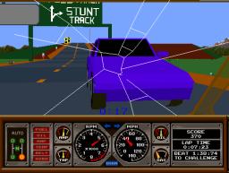Hard Drivin' (ARC)  © Atari Games 1989   2/4