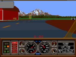 Hard Drivin' (ARC)  © Atari Games 1989   3/4