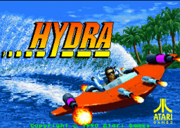 Hydra (ARC)  © Atari Games 1990   1/4
