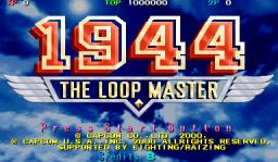 1944: The Loop Master (ARC)  © Capcom 2000   1/10