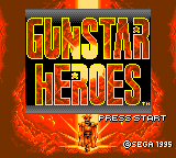 Gunstar Heroes (GG)  © Sega 1995   1/2