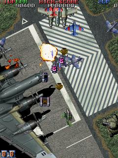Raiden Fighters Jet  © Seibu Kaihatsu 1998  (ARC)   6/14