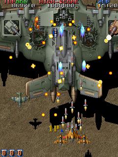 Raiden Fighters Jet (ARC)  © Seibu Kaihatsu 1998   3/14