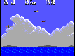 Aerial Assault (SMS)  © Sega 1990   2/9