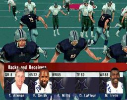 NFL Quarterback Club 2000 (DC)  ©  1999   1/3