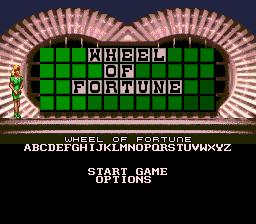 Wheel Of Fortune (SMD)  © GameTek 1992   1/3