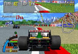 F1 Super Lap (ARC)  © Sega 1993   2/5