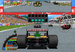 F1 Super Lap (ARC)  © Sega 1993   3/5