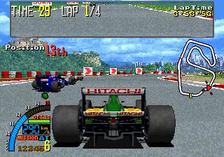 F1 Super Lap (ARC)  © Sega 1993   5/5