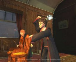 Harry Potter And The Prisoner Of Azkaban (PS2)   © EA 2004    2/4
