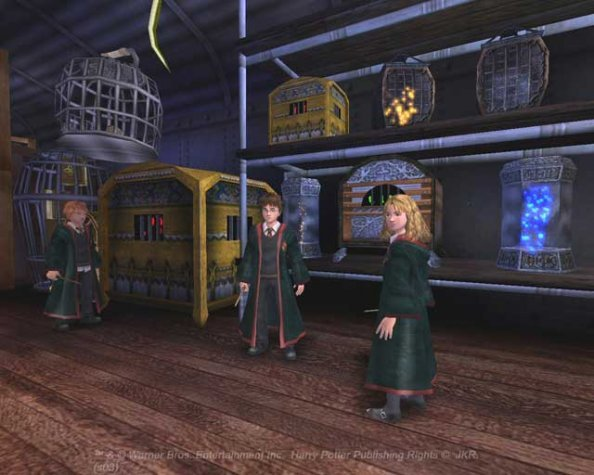 Harry Potter And The Prisoner Of Azkaban (PS2)   © EA 2004    4/4