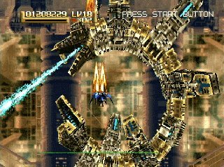 Radiant Silvergun (ARC)  © Treasure 1998   4/8