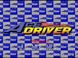 Ace Driver (ARC)  © Namco 1994   1/5