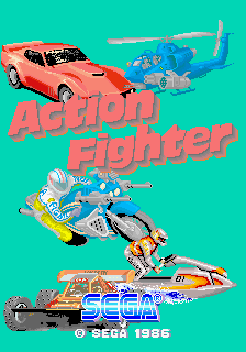 Action Fighter (ARC)  © Sega 1986   1/4
