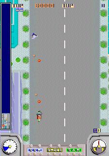 Action Fighter (ARC)  © Sega 1986   2/4