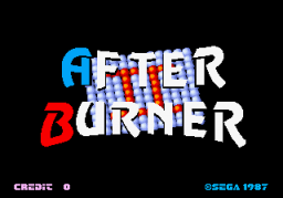 After Burner II (ARC)   © Sega 1987    1/4