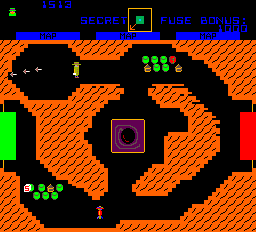 Agent X (ARC)  © Atari (1972) 1983   2/4