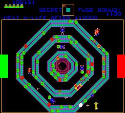 Agent X (ARC)  © Atari (1972) 1983   3/4