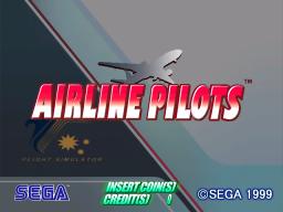 Airline Pilots (ARC)  © Sega 1999   1/3