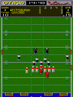 All American Football (ARC)   © Leland 1989    5/5