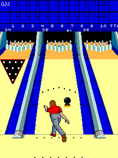 Alley Master (ARC)  © Cinematronics 1988   2/3