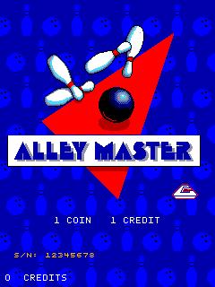 Alley Master (ARC)  © Cinematronics 1988   1/3