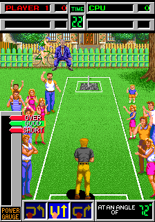 American Horseshoes (ARC)   © Taito 1990    3/4