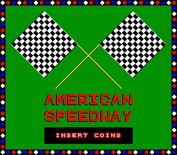 American Speedway (ARC)  © PGD 1987   1/4