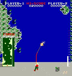 Angler Dangler (ARC)  © Data East 1982   1/1
