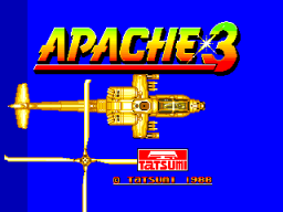 Apache 3 (ARC)   © Data East 1988    1/4