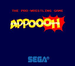 Appoooh (ARC)  © Sega 1984   1/3