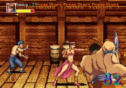 Arabian Fight (ARC)  © Sega 1992   1/11