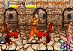 Arabian Fight (ARC)  © Sega 1992   2/11
