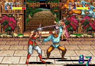 Arabian Fight (ARC)  © Sega 1992   4/11