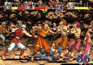 Arabian Fight (ARC)  © Sega 1992   5/11