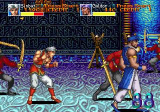 Arabian Fight (ARC)  © Sega 1992   6/11