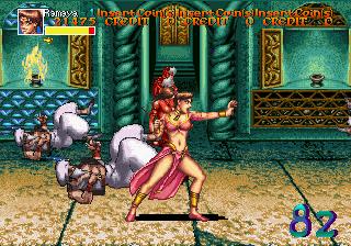 Arabian Fight (ARC)  © Sega 1992   8/11