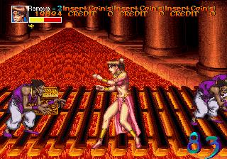 Arabian Fight (ARC)  © Sega 1992   9/11