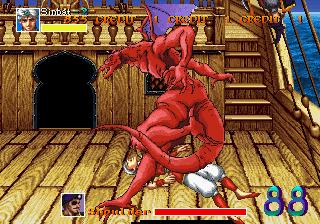 Arabian Fight (ARC)  © Sega 1992   10/11