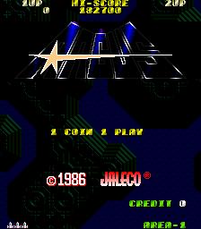 Argus (ARC)  © Jaleco 1986   1/4