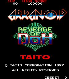 Arkanoid: Revenge Of Doh (ARC)  © Taito 1987   1/6