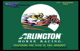 Arlington Horse Racing (ARC)  © Strata 1990   1/3