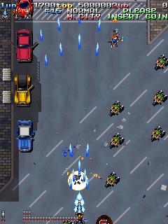 Armed Police Batrider (ARC)  © Raizing 1998   10/12