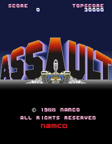 Assault (1988) (ARC)  © Namco 1988   1/4
