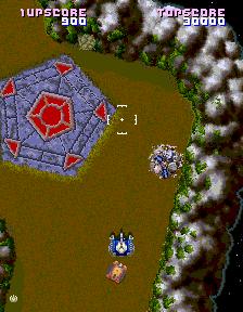 Assault (1988) (ARC)  © Namco 1988   3/4